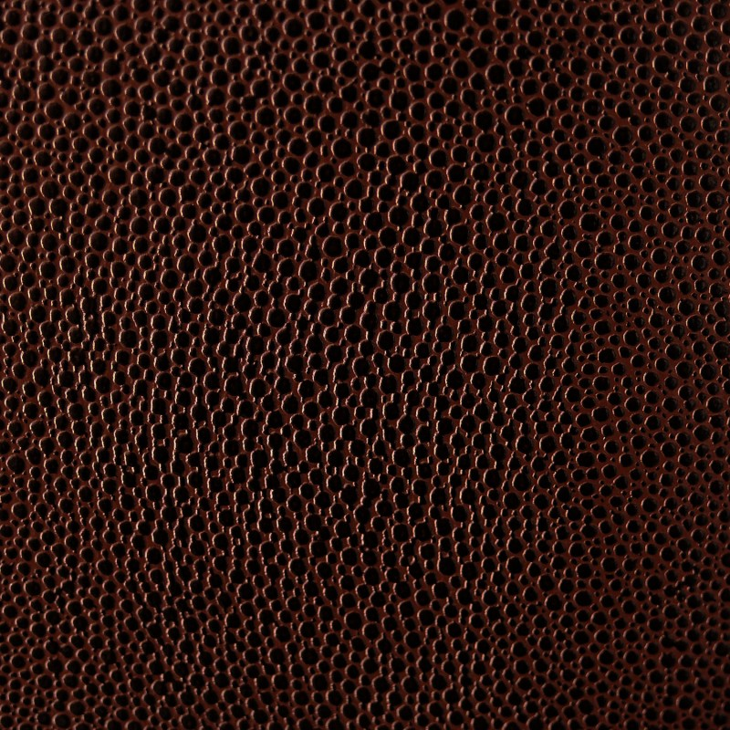 Papier skivertex pellaq mallory marron cartonnage for Papier peint cuir marron