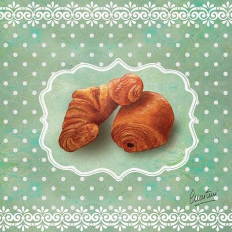 Carte postale Catherine Martini croissant