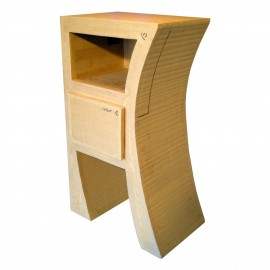 Tuto meubles en carton livre chevet hasiane 1