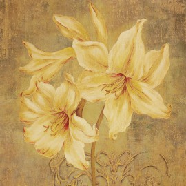 Carte d'art adorned lily