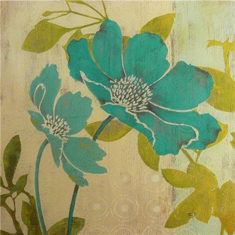 Carte d'art embossed magnolia Melissa Pluch