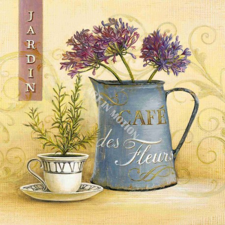 Reproduction déco maison shabby chic café des fleurs angela staehling