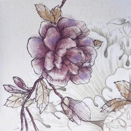 Carte d'art rosette bloom Devon Ross