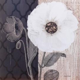 Carte d'art fleurs opalescent bloom Morgan Yamada