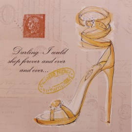 Carte d'art chaussure shop forever shoe