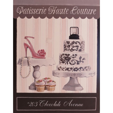 Carte d'art chocolate avenue