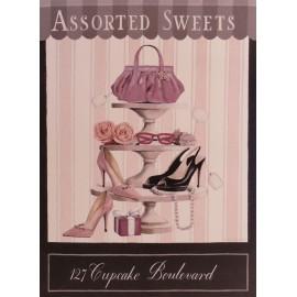 Carte d'art cupcake boulevard