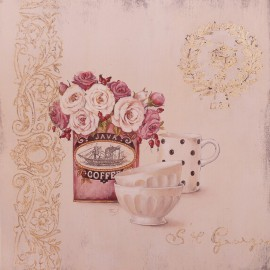 Carte d'art set for coffee Stephania Ferri