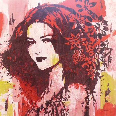 Carte d'art patchouli Melissa Pluch