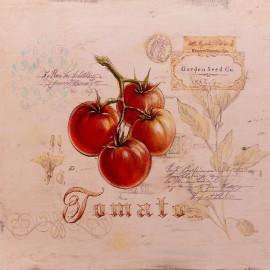 Carte d'art tomates tuscan tomato Angela Staehling