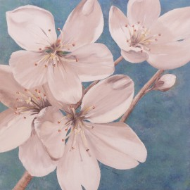 Carte d'art fleurs blossom bounty