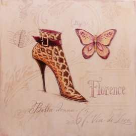 Carte d'art chaussures flirty boot