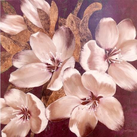 Carte d'art fleurs plum blossoms 1