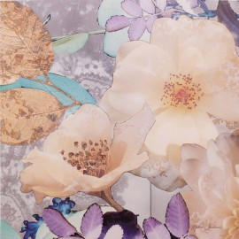 Carte d'art fleurs jewel box detail 4