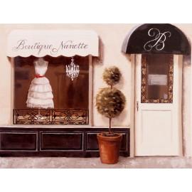 Carte d'art boutique nanette