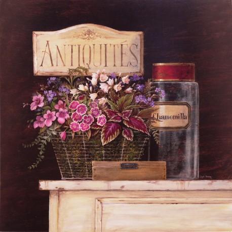Carte d'art fleurs Angela Staehling