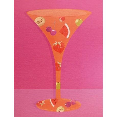 Carte d'art cocktail 2