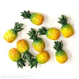 Miniature vitrine ananas 1x1.5cm