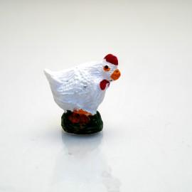 Miniature vitrine poule 2.5x2.5cm