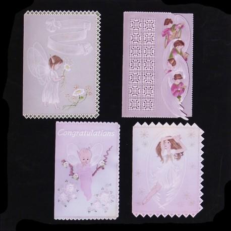 Patrons Adèle Miller modèle Pergamano anges & Fairies pattern