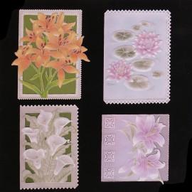 Patrons Adèle Miller modèle Pergamano Lovely Lilies pattern