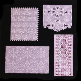 Patrons Adèle Miller modèle Pergamano White dentelles pattern