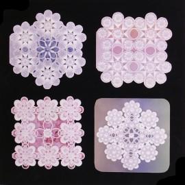 Patrons Adèle Miller modèle Pergamano Teardrop Variations pattern