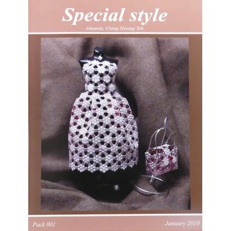Modèles Amanda Yeh patron Pergamano special style pattern 1
