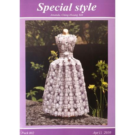 Modèles Amanda Yeh patron Pergamano special style pattern 2