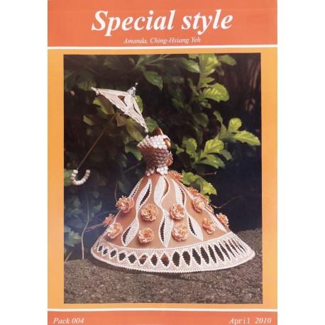 Modèles Amanda Yeh patron Pergamano special style pattern 4