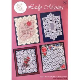 Modèles Lady Manita patron Pergamano pattern 3
