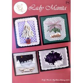 Modèles Lady Manita patron Pergamano Noël pattern 4