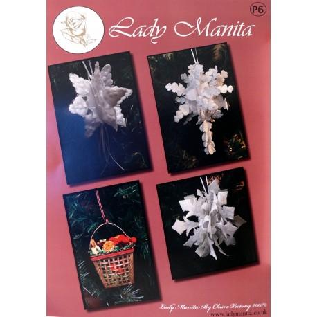 Modèles Lady Manita patron Pergamano Noël pattern 6