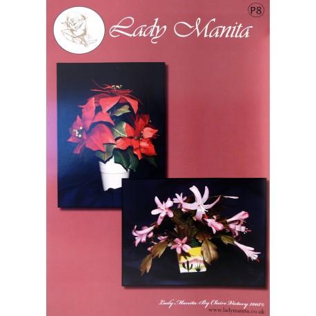 Modèles Lady Manita patron Pergamano pattern 8