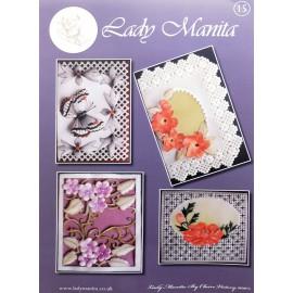 Modèles Lady Manita patron Pergamano pattern 15