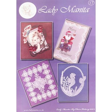 Modèles Lady Manita patron Pergamano Noël pattern 17