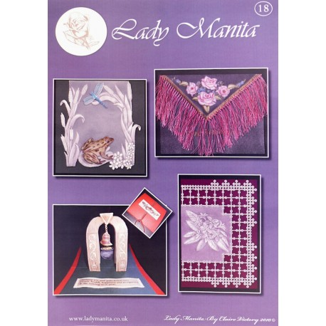 Modèles Lady Manita patron Pergamano pattern 18