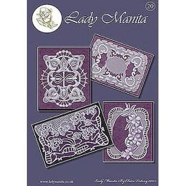 Modèles Lady Manita patron Pergamano pattern 20