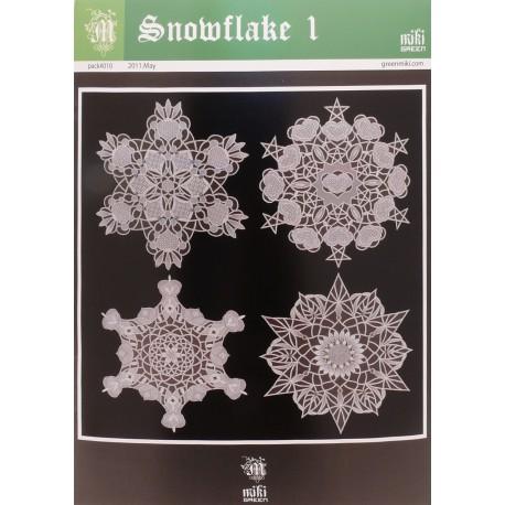 Patrons Miki Green modèle Pergamano Noël étoiles 1 pattern 10