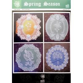 Patrons Miki Green modèle Pergamano printemps saison pattern 2