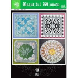 Patrons Miki Green modèle Pergamano jolies fenêtres pattern 6