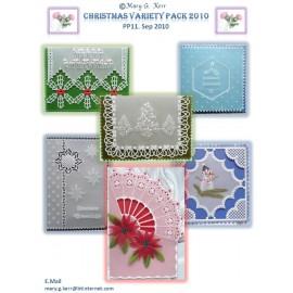 Modèles Mary G Kerr patron Pergamano Noël varié pattern 11
