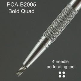 PCA outil perforation carré 4 pointes épaisses