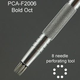 PCA outil perforation octogone 8 pointes épaisses