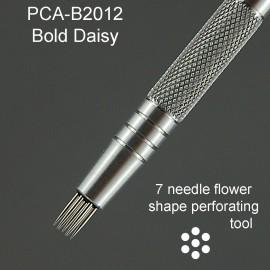 PCA outil perforation fleur 7 pointes épaisses
