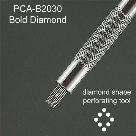 PCA outil perforation losange 8 pointes épaisses