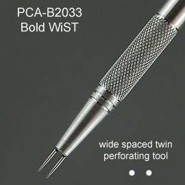 PCA outil perforation 2 pointes épaisses espacées