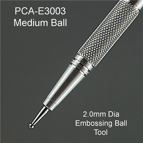 PCA outil à embosser bille 2mm medium ParchCraft Australia