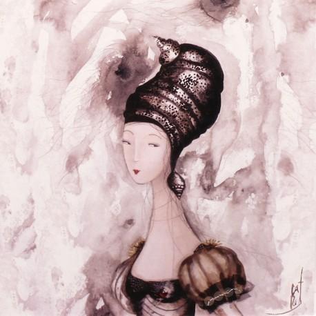 Carte postale Catherine Rebeyre patella barbara