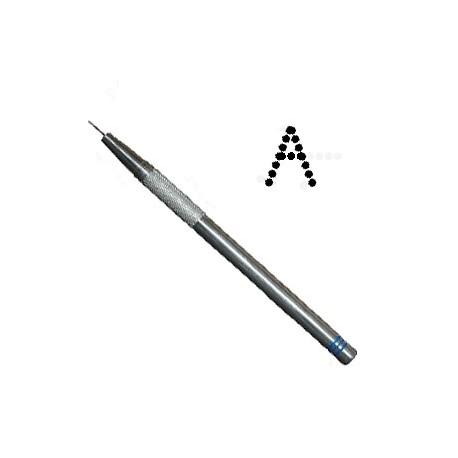 PCA outil de perforation fin lettre A